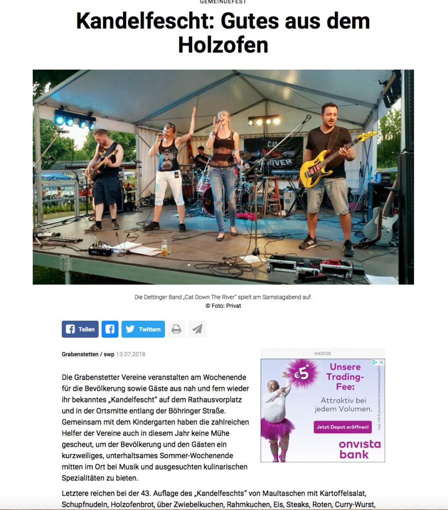 Kandelfest Grabenstetten 14.07.2018